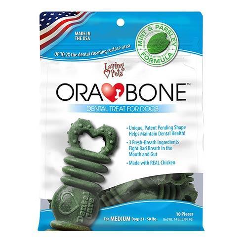Wholesale 1.3oz ORA-BONE DENTAL TREAT - MED