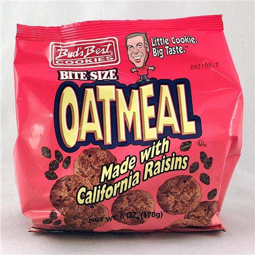 Wholesale Buds Best Bag Cookies Oatmeal