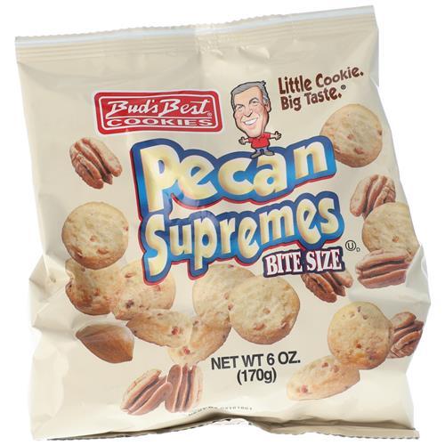 Wholesale Buds Best Bag Cookies Pecan Supremes