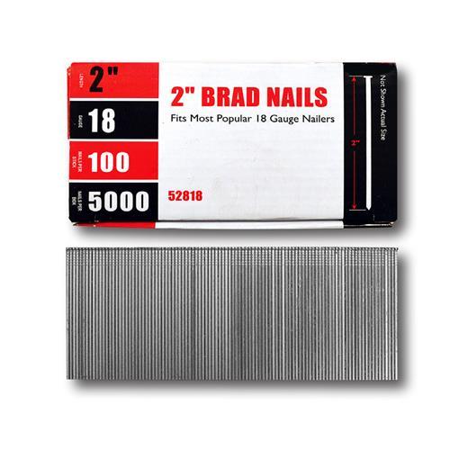 Wholesale Brad Nail 18G 2'' 5000pk