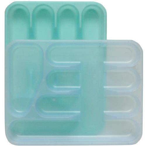 Wholesale Cutlery Tray Pastel Colors 10x13x1 3/4""