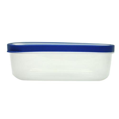 Wholesale Rectangular Food Storage Container w/ Rubber Trim