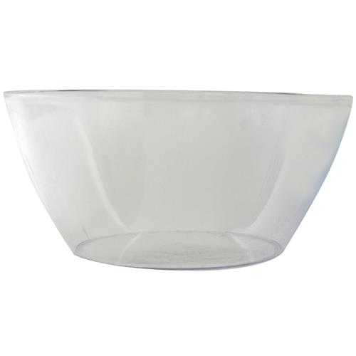 "Wholesale Round Styrene Serving Bowl 10"" Clear"
