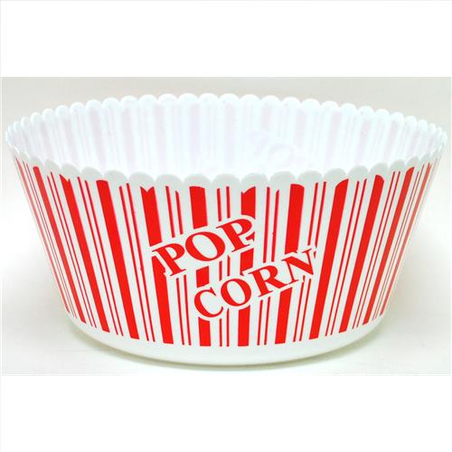"Wholesale Round Pop Corn Bowl 10"" x 5"""