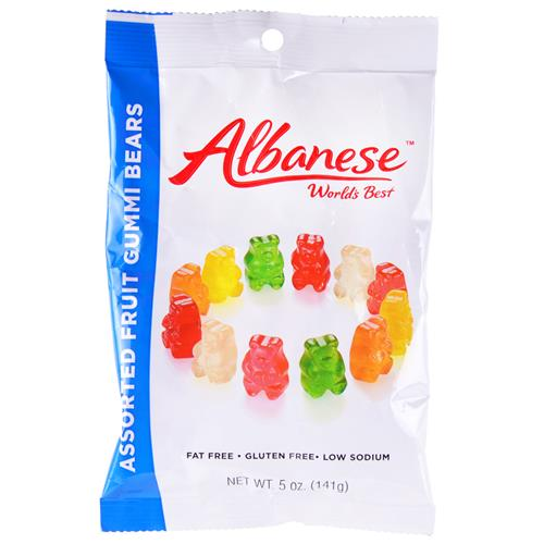 Wholesale World's Best Gummi Bears 6 Flavors