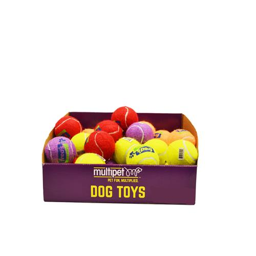 Wholesale PET TENNIS BALL ASSORTED COLOR