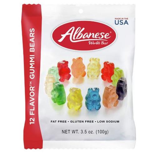 Wholesale Albanese Gummi Bears 12 Flavor