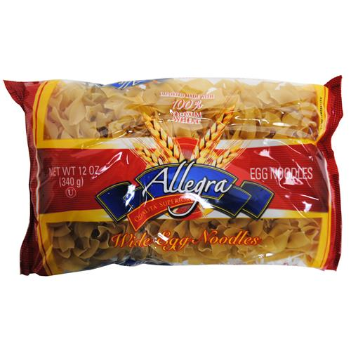 Wholesale Allegra Wide Egg Noodles