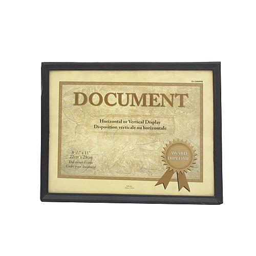 "Wholesale 8-1/2"" x 11"" DOCUMENT FRAME"
