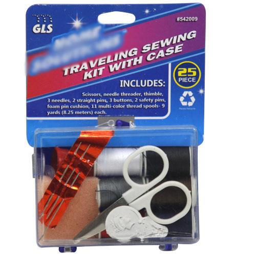 Wholesale TRAVELING SEWING KIT w/ CASE
