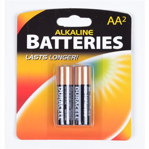 Wholesale Duracell Alkaline AA Battery Repackaged.