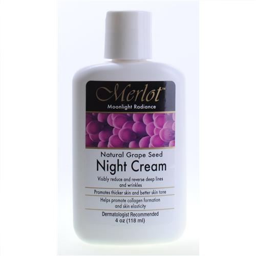 Wholesale Merlot Natural Grape Seed Night Cream - Pharmacy Quality