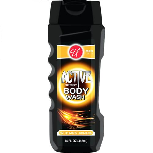 Wholesale 14OZ MEN BODY WASH ACTIVE SPOR