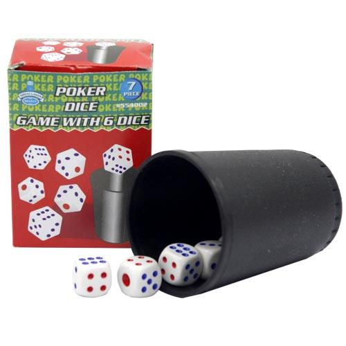 Wholesale POKER DICE GAME w/ 6 DICE