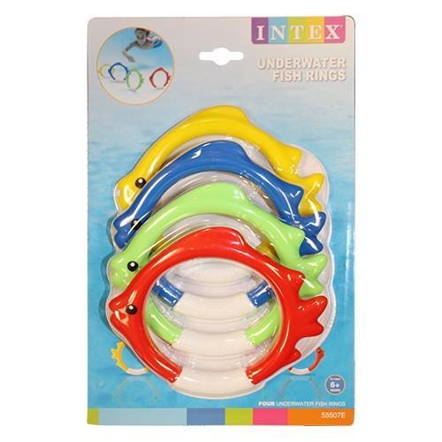 Wholesale 4ct Underwater Fish Rings