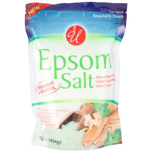 Wholesale 1LB Epsom Salt Spearmint & Menthol
