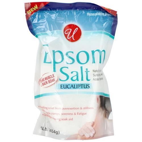 Wholesale 1LB Epsom Salt Muscle & Back