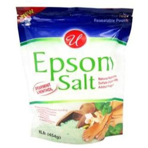 Wholesale 1LB Epsom Salt Green Tea & Chamomile