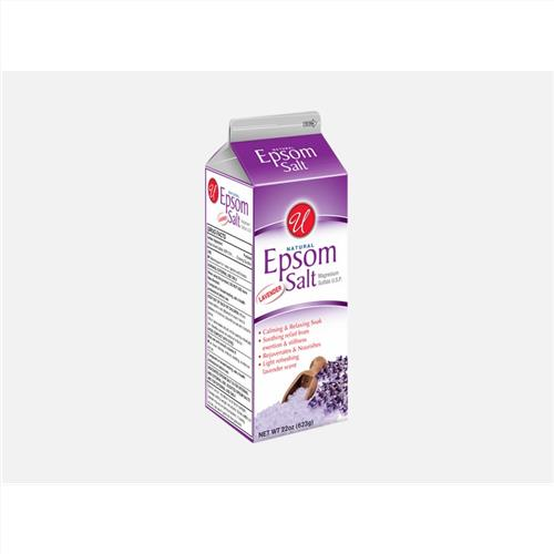 Wholesale 22 oz Epsom Salt Lavender