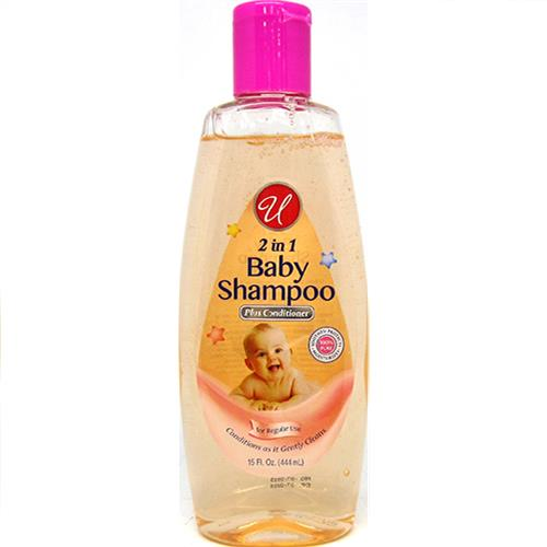 Wholesale U Baby Shanpoo 2-in-1  12oz