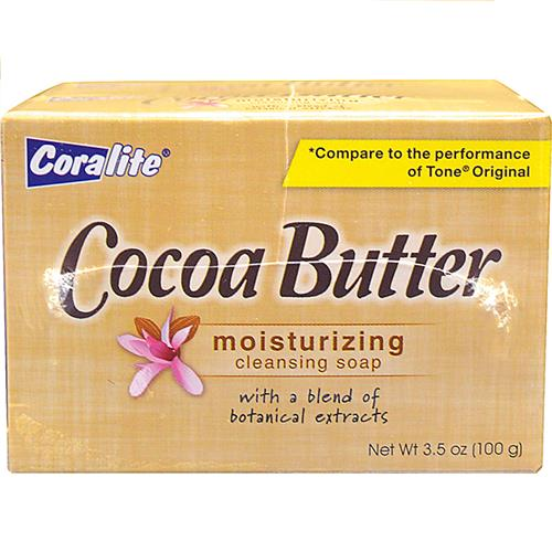 Wholesale 2PK COCOA BUTTER SOAP COLRALIT