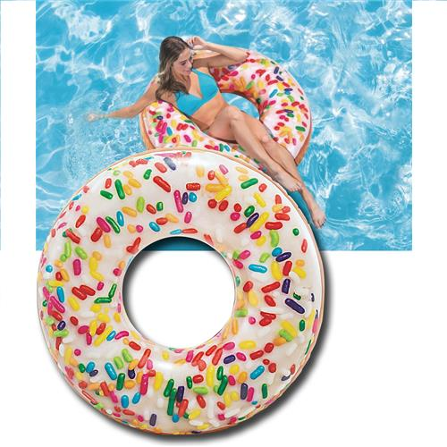 Wholesale Sprinkle Donut Donut Swim Tube 45""