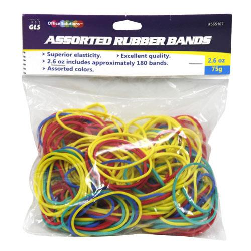 Wholesale ASSORTED RUBBER BANDS