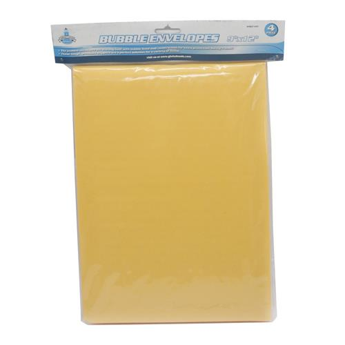 "Wholesale 4pc BUBBLE ENVELOPES - 9""x12"""