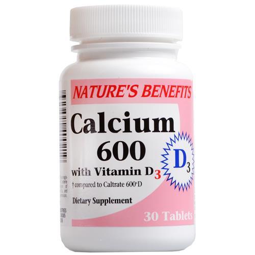 Wholesale Nature's Benefits Calcium 600 w/Vitamin D3 (Caltra