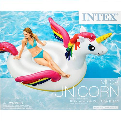 Wholesale Mega Unicorn Island Swim Float. 113 x 76 x 65""