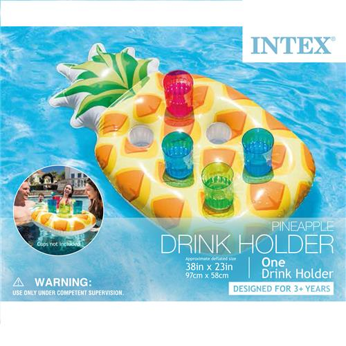 Wholesale Pineapple Drink Holder 38 x 23' Holds 6 drinks.