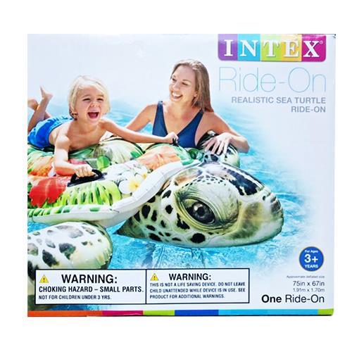 "Wholesale 75x67"" Realistic Sea Turtle Ride-On"