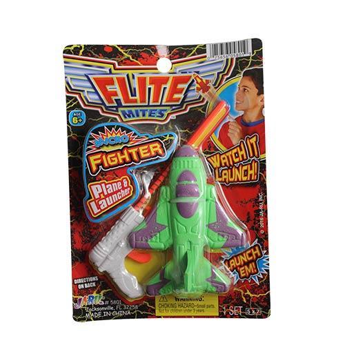 Wholesale FLITE MITES MICRO FIGHTER PLANE & LAUNCHER