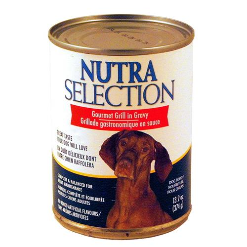 Wholesale Nutra Selection Gourmet Grill in Gravy Food Can