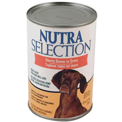 Wholesale Nutra Selection Hearty Dog Food Dinner in Gravy