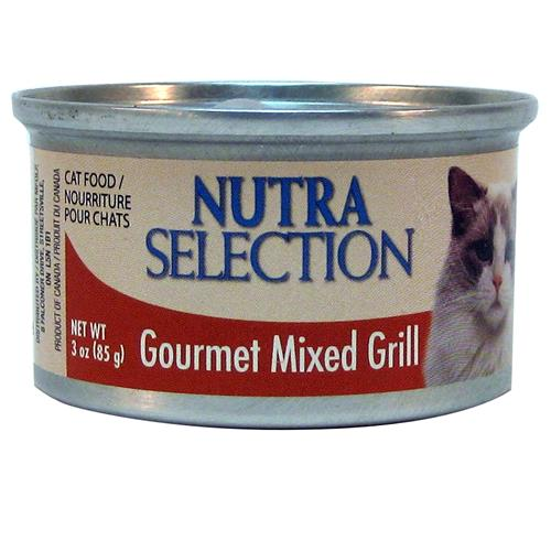 Wholesale Nutra Selections Gourmet Grill Cat Food Mixed