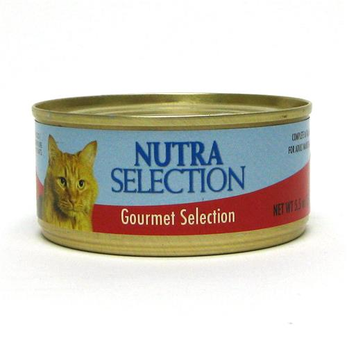 Wholesale Nutra Selection Gourmet Canned Cat Food