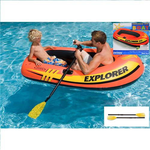 Wholesale Explorer 200 2-Person Inflatable Boat Raft By Intex