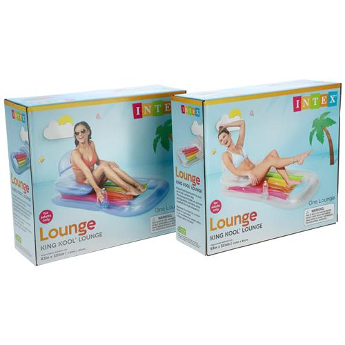"Wholesale King Kool 63"" Inflatable Lounge By Intex"