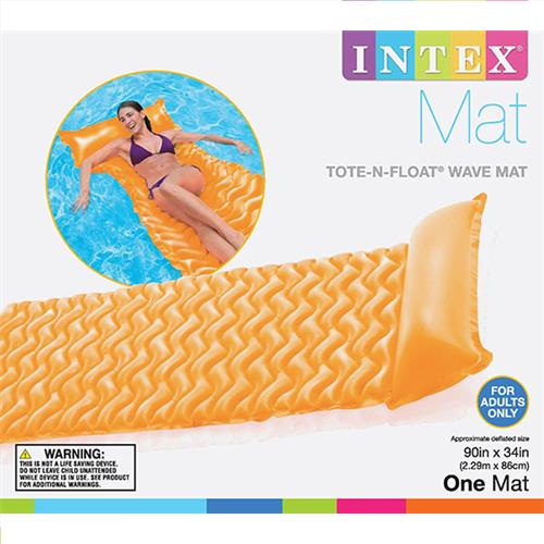 "Wholesale Tote & Float Wave Mats 3 Colors 90"" x 34"""