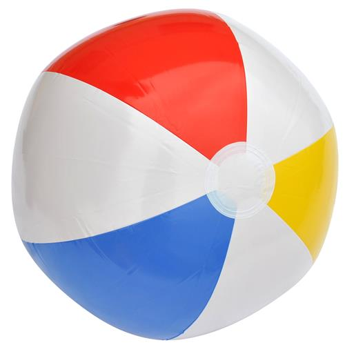 Wholesale Glossy Panel Beach Ball 20""