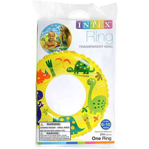 "Wholesale Transparent Swim Ring 24""  by Intex."