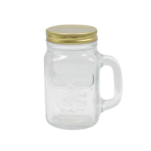 Wholesale 16OZ GLASS DRINKING JAR & LID