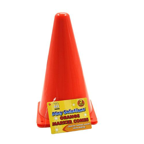 Wholesale Orange Marker Cones - 2 ct.     2pc ORANGE MARKER CONES