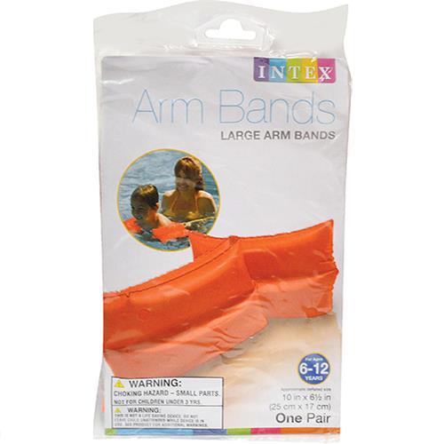 Wholesale Large Swimming Arm Bands Orange Ages 6-12