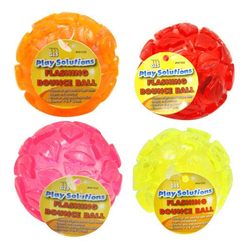 Wholesale FLASHING BOUNCE BALL