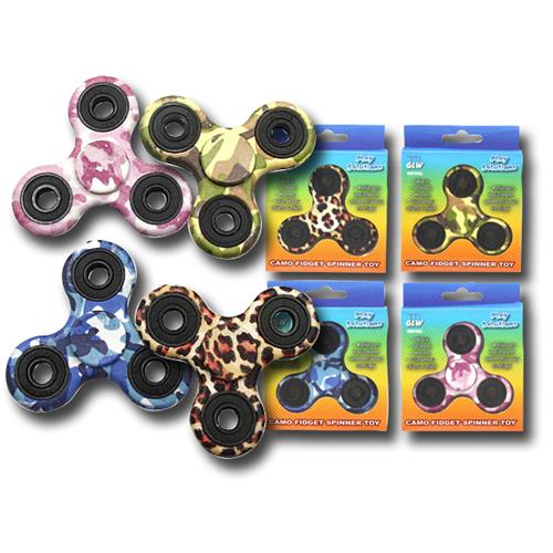 Wholesale CAMO FIDGET SPINNER TOY