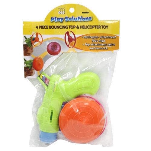 Wholesale BOUNCING TOP & HELICOPTER TOY