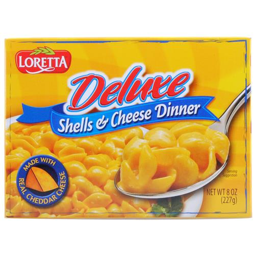 Wholesale Loretta Deluxe Shells and Cheese