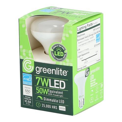 Wholesale 7=50W LED R20 FLOODLIGHT BRIGHT WHITE